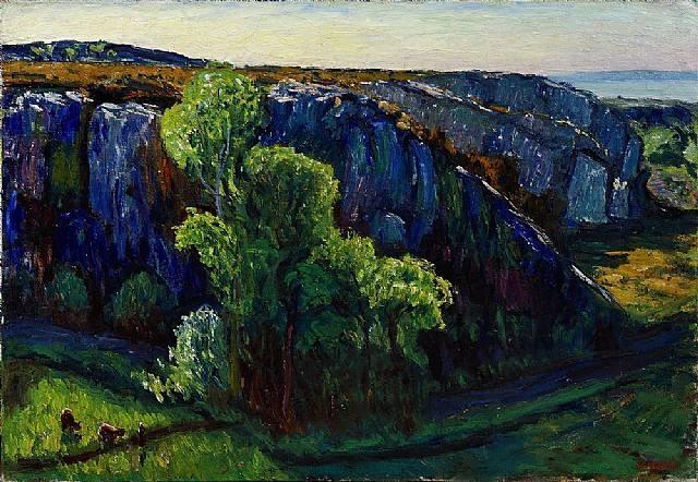 René Seyssaud - Dans les Ocres, 1906