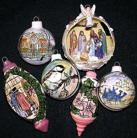 Ornaments by Serena Boschert.