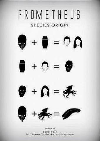 El origen de las especies según Scott.