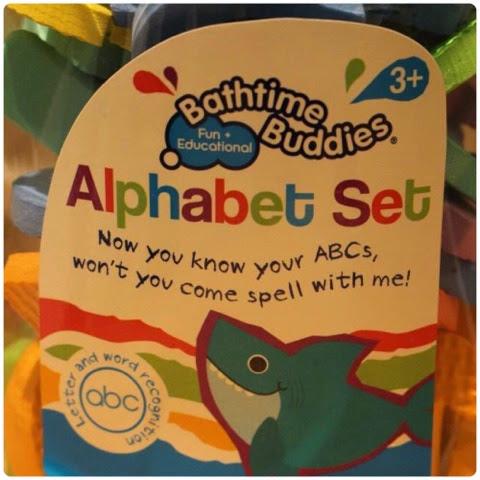 H&A Bathtime Buddies - Alphabet Set*