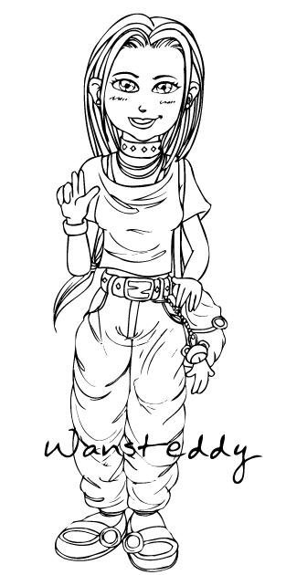 Wansteddy Tales Cartoon Teen Girl-5066