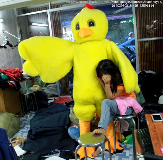 sản xuất, bán và cho thuê mascot con gà, chicken mascot