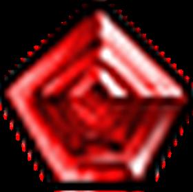 無瑕星芒紅寶石