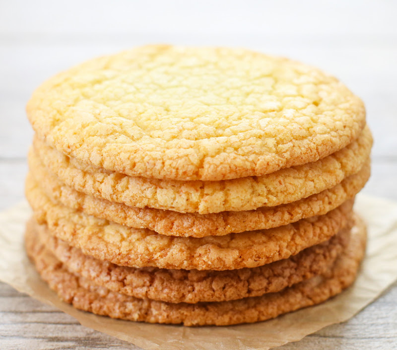 photo of a stack of Momofuku's Corn Cookies