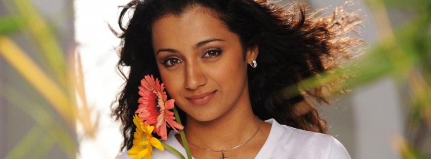 Trisha Krishnan facebook cover