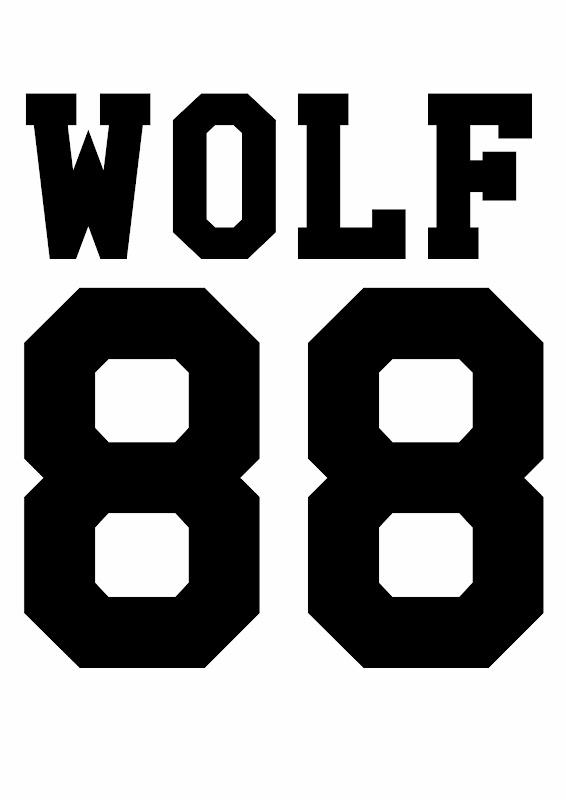 exo wolf 88 logo white
