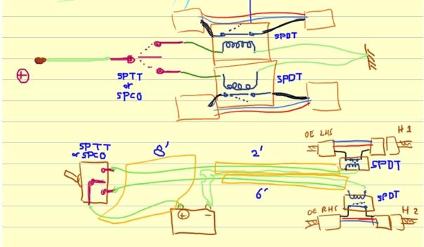 Morette Headlights Wiring Diagram : Morette headlights wiring diagram jeffdoedesign