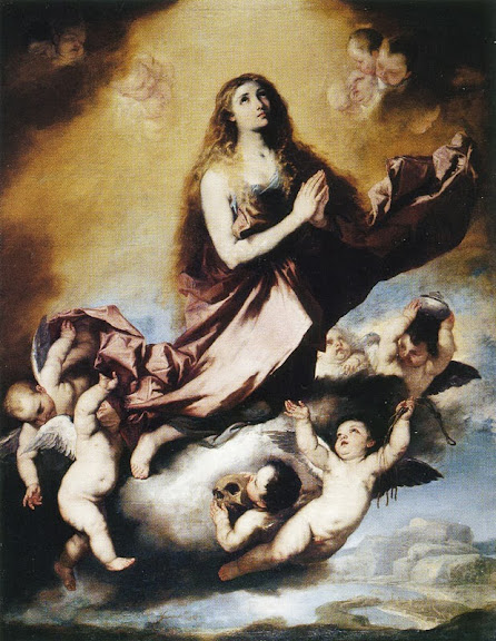 Luca Giordano - The Ecstasy of Saint Mary Magdalen