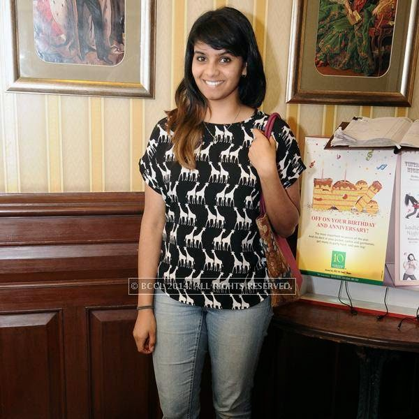 Anurathi during a Ladies Night party, held at 10 Downing Street.