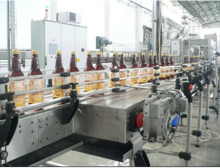Dây chuyền sản xuất bia tươi Việt Hà chai pet