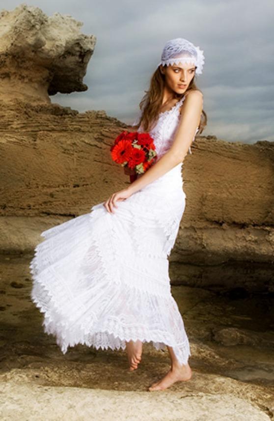 Vestidos de novia estilo ibicenco charo ruiz