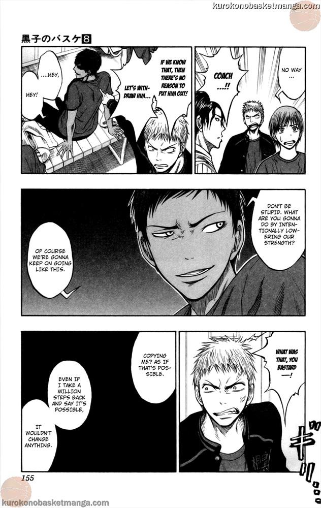Kuroko no Basket Manga Chapter 68 - Image 9