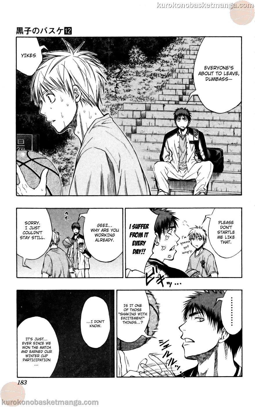 Kuroko no Basket Manga Chapter 108 - Image 13