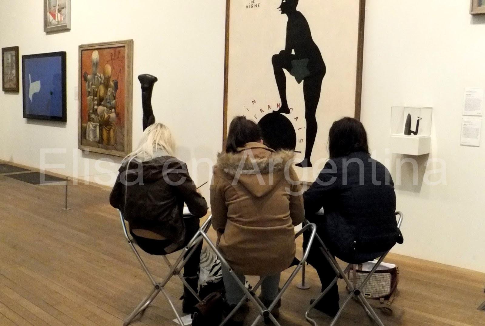People in London: Tate Modern