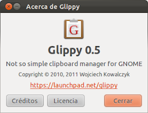 Glippy, un gestor del portapapeles con soporte para imagenes