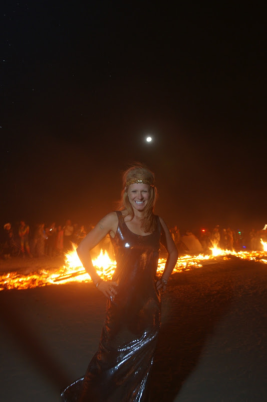 Disco Gown at Burning Man