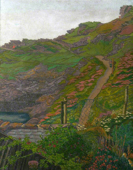 Charles Ginner - Penally Hill