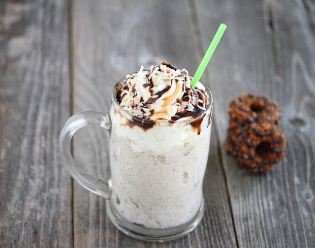 Samoas Milkshake