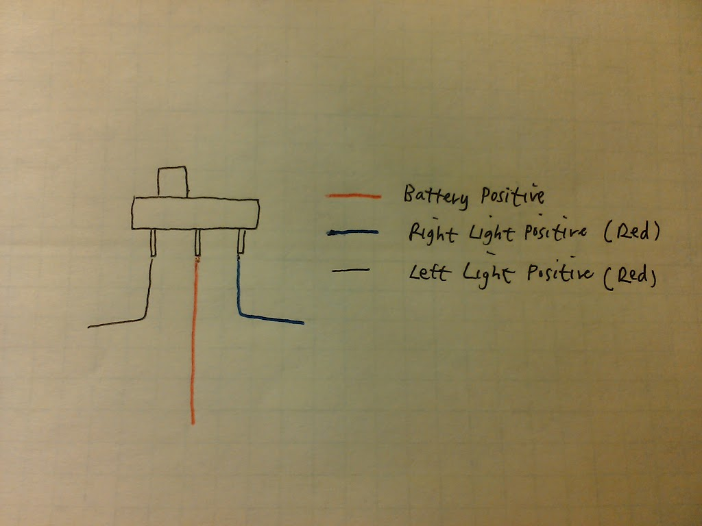 Below Diagrams Show How To Set Up The Led Lights With 2x 4pin Relay