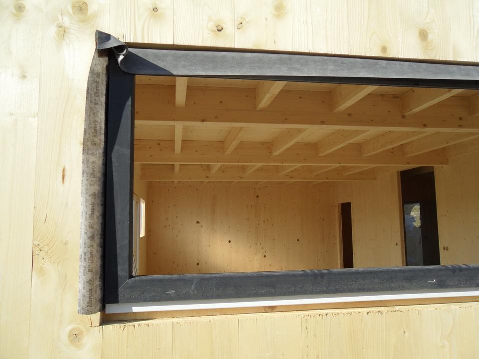 notre maison passive au pays des 3 fronti res lorraine pose des fen tres. Black Bedroom Furniture Sets. Home Design Ideas