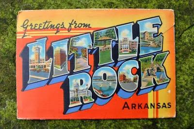 Little Rock postcard pack.