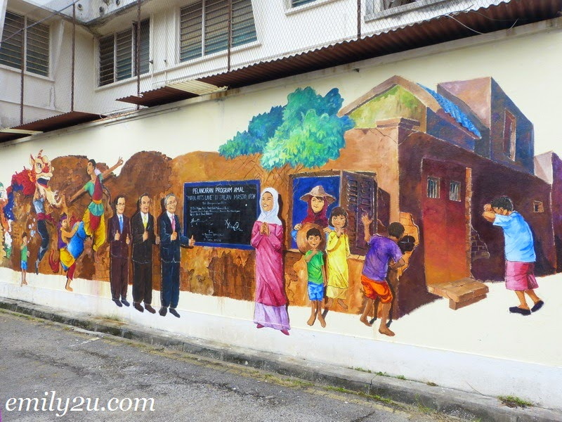 Ipoh's Mural Arts Lane