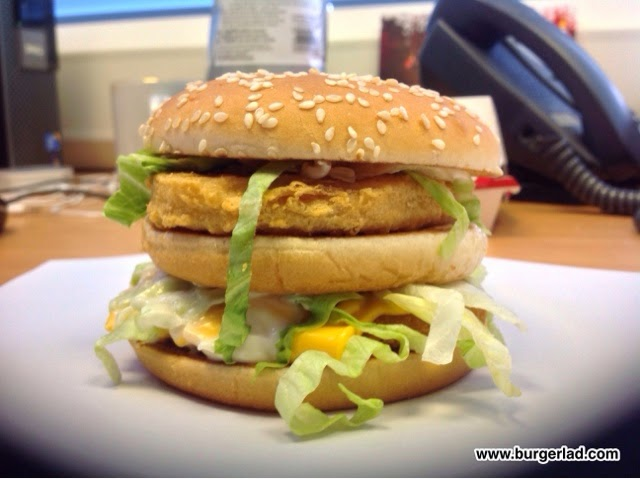 McDonald's Chicken Big Mac UK