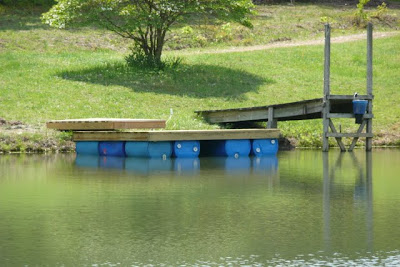 Guidance for building a floating dock property projects for Pond pier plans