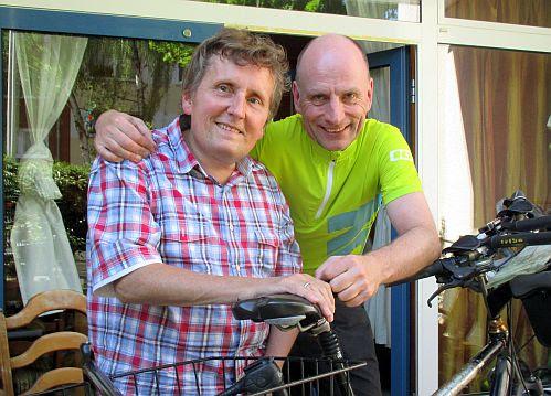 Christian & Chris in Beuel; Foto: Emilia Wagemann