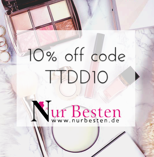 10% off code TTDD10 on NurBesten