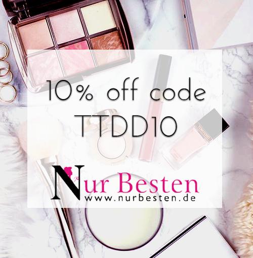 10% off code TTDD10 on NurBesten