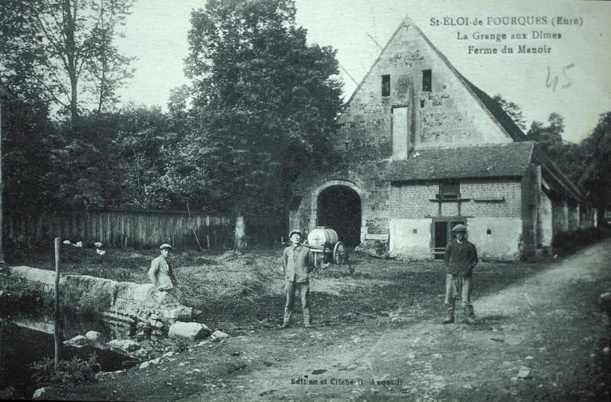 La Grange au Dîmes de la Ferme du Manoir à Saint-Eloi-de-Fourques