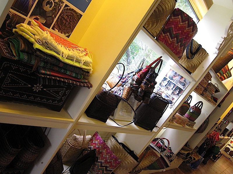 bags and baskets at The Manila Collectible Co.