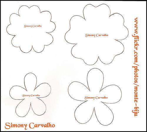 Moldes Y Figuras De Sucha Foami Moldes De Flores