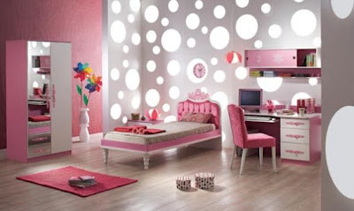polkadots4 Polka Dots in a Teen or Tween Bedroom 11