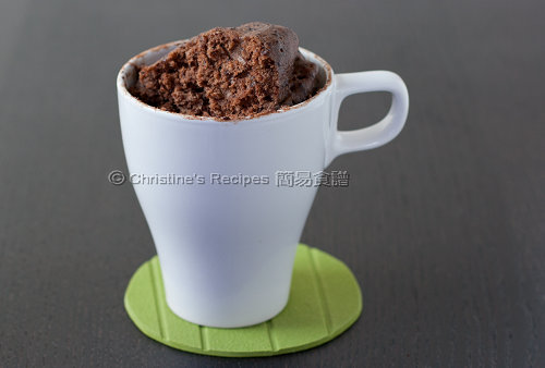 五分鐘朱古力蛋糕 5 Minute Chocolate Mug Cake03