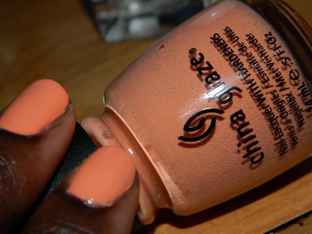 Peachy Keen China Glaze