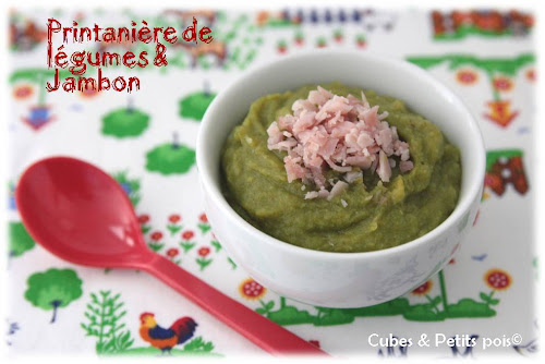 recette-bebe-8-mois-printanniere-de-legumes-jambon-blanc