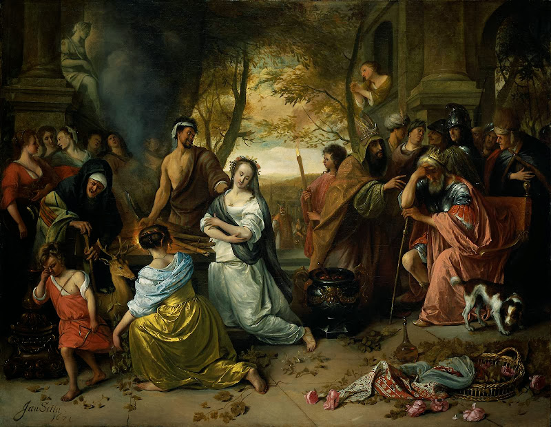 Jan Steen - Sacrifice of Iphigenia