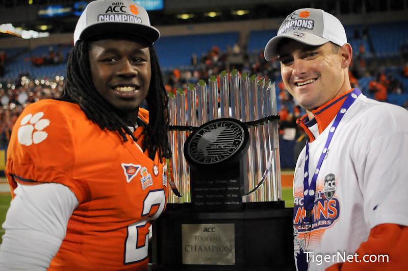2011 ACC Championship Photos - 2011, ACC Championship, Celebration, Football, Jeff Scott, Sammy Watkins, Virginia Tech