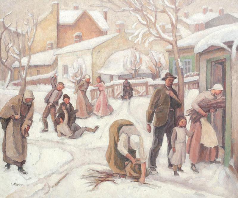 Camil Ressu - Zi de iarnă