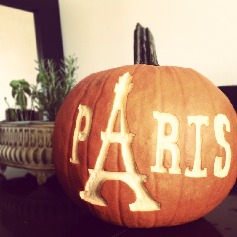 Paris Pumpkin