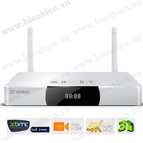 ZIDOO X9 4K Android TV Box Quad Core ZIDOO X9 Nang Cap TV Thuong Thanh TV Thong Minh 14