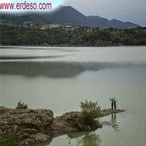 Baschi - il lago di Corbara