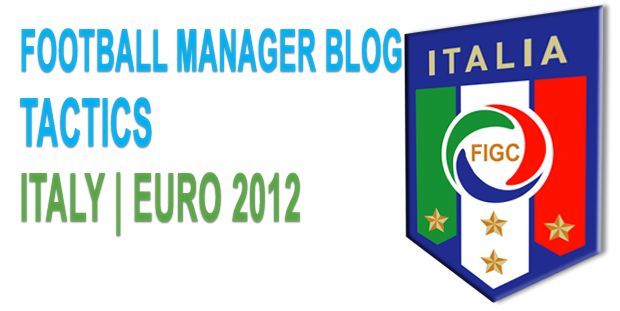 Italy tactic for EURO 2012