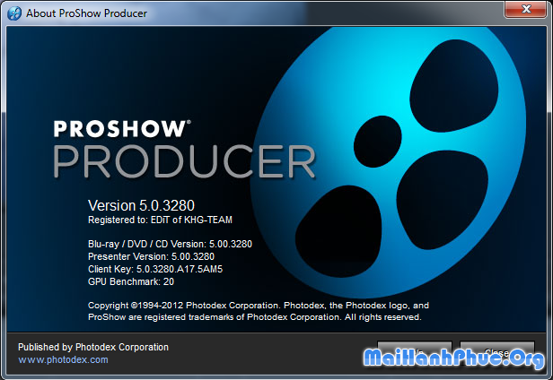 ProShow Producer 5.0.3280 full