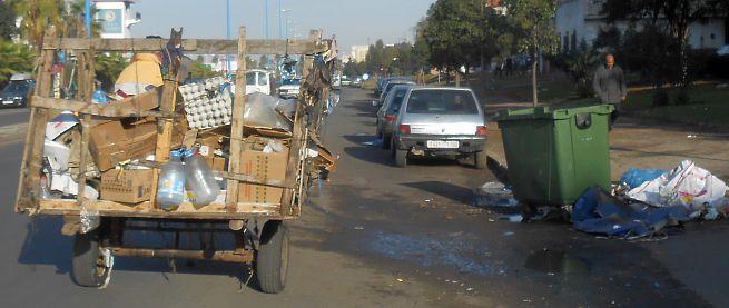 Müllverwertung in Casablanca