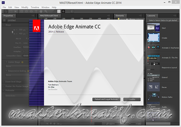 Adobe Edge Animate CC 2014.1
