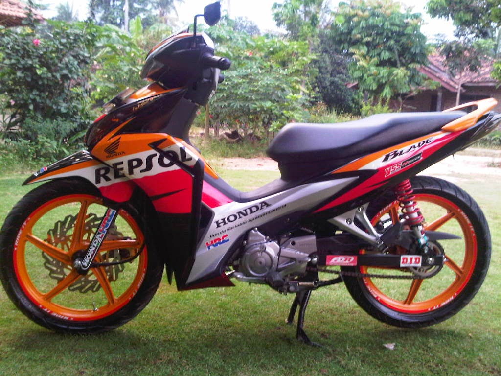 Modifikasi Honda Blade
