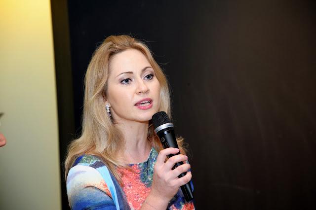 Злата Шеве, президент Русского клуба в Сингапуре